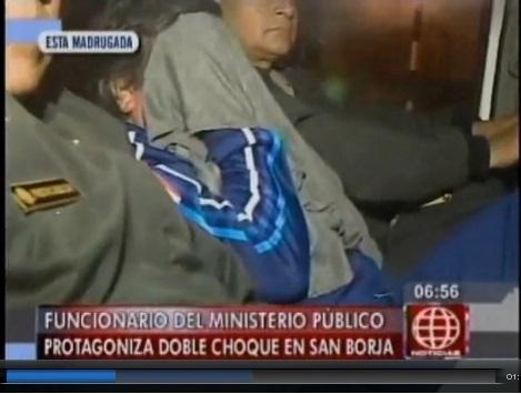 Artemio Bardales Ríos, gerente de Registros Públicos, del Ministerio Público