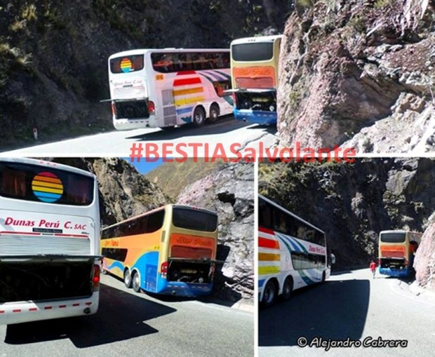 correteo entre buses interprovinciales