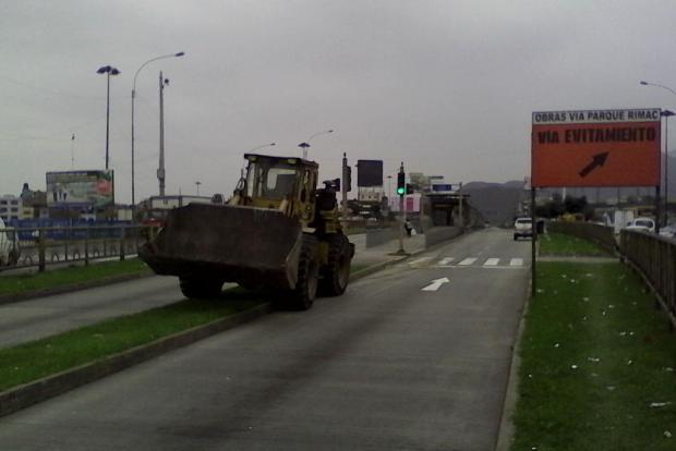 Tractor de Municipalidad San Martin
