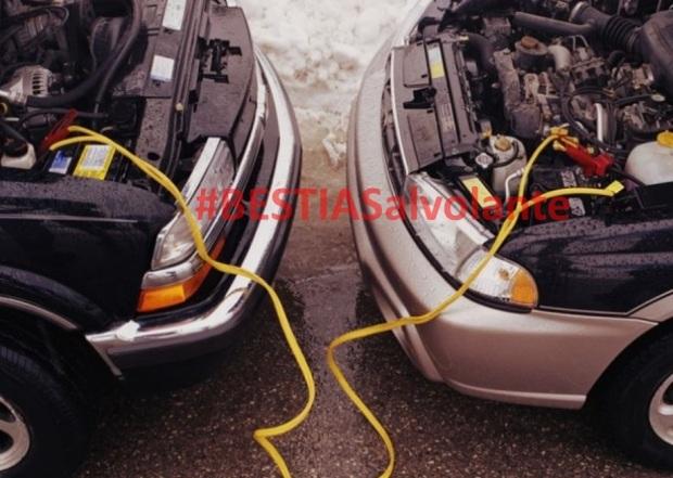 Como pasar energia de un vehiculo a otro