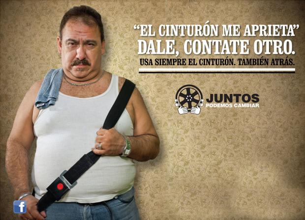 cinturon seguridad argentina